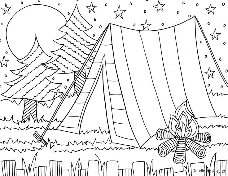 free printable coloring pages for kids camping free printable camping coloring pages 007 kids coloring for printable free camping pages