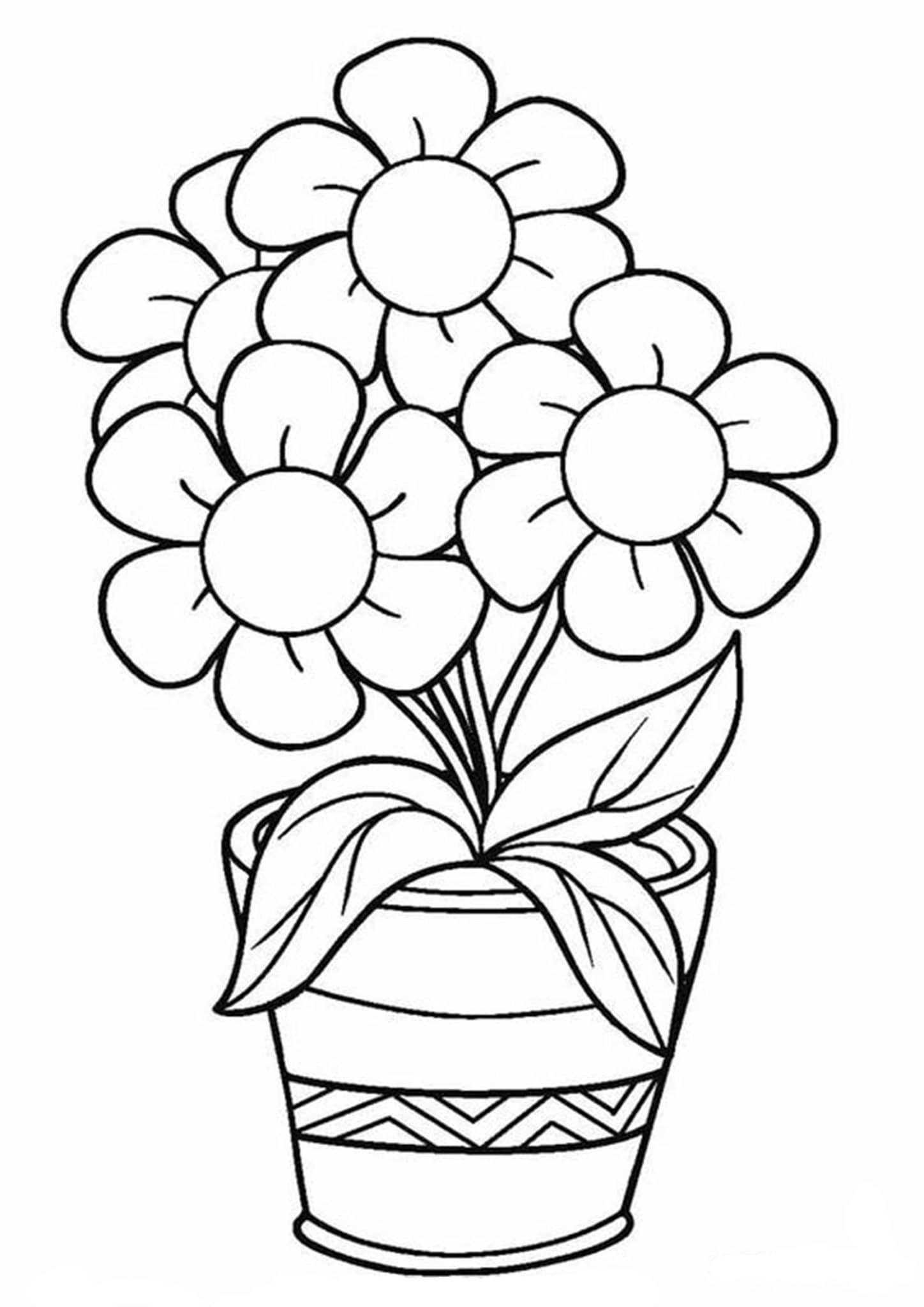 free printable coloring pages of flowers free printable flower coloring pages for kids best flowers coloring pages of printable free