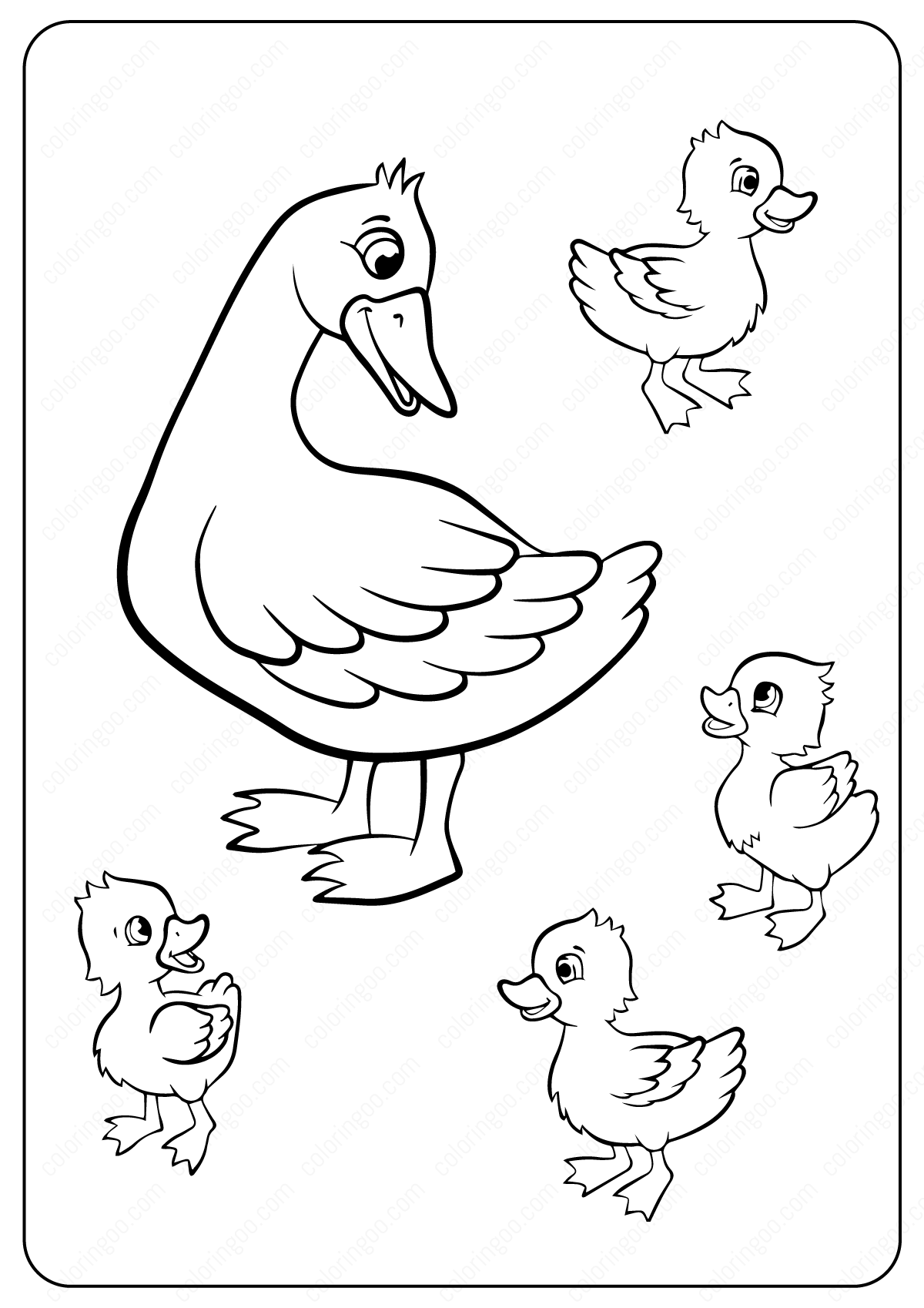 free printable duck coloring pages free easy to print duck coloring pages tulamama printable coloring pages free duck