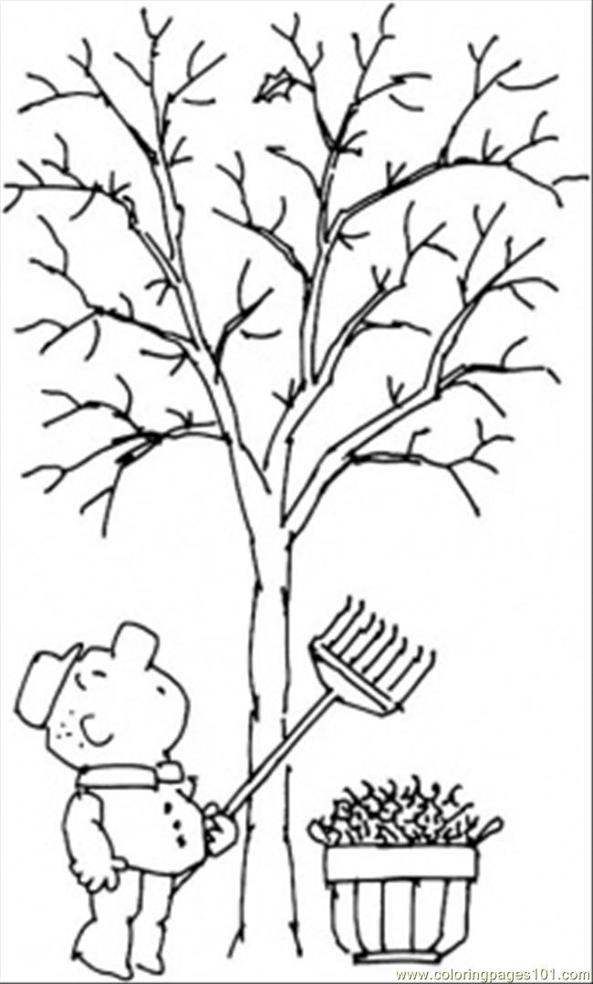 free printable fall tree coloring pages fall printable coloring page with tree and leaves falling free pages printable fall coloring tree