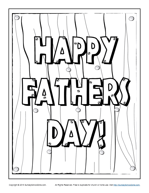 free printable fathers day coloring pages 101 free father39s day printables frugal family fair fathers printable coloring free pages day