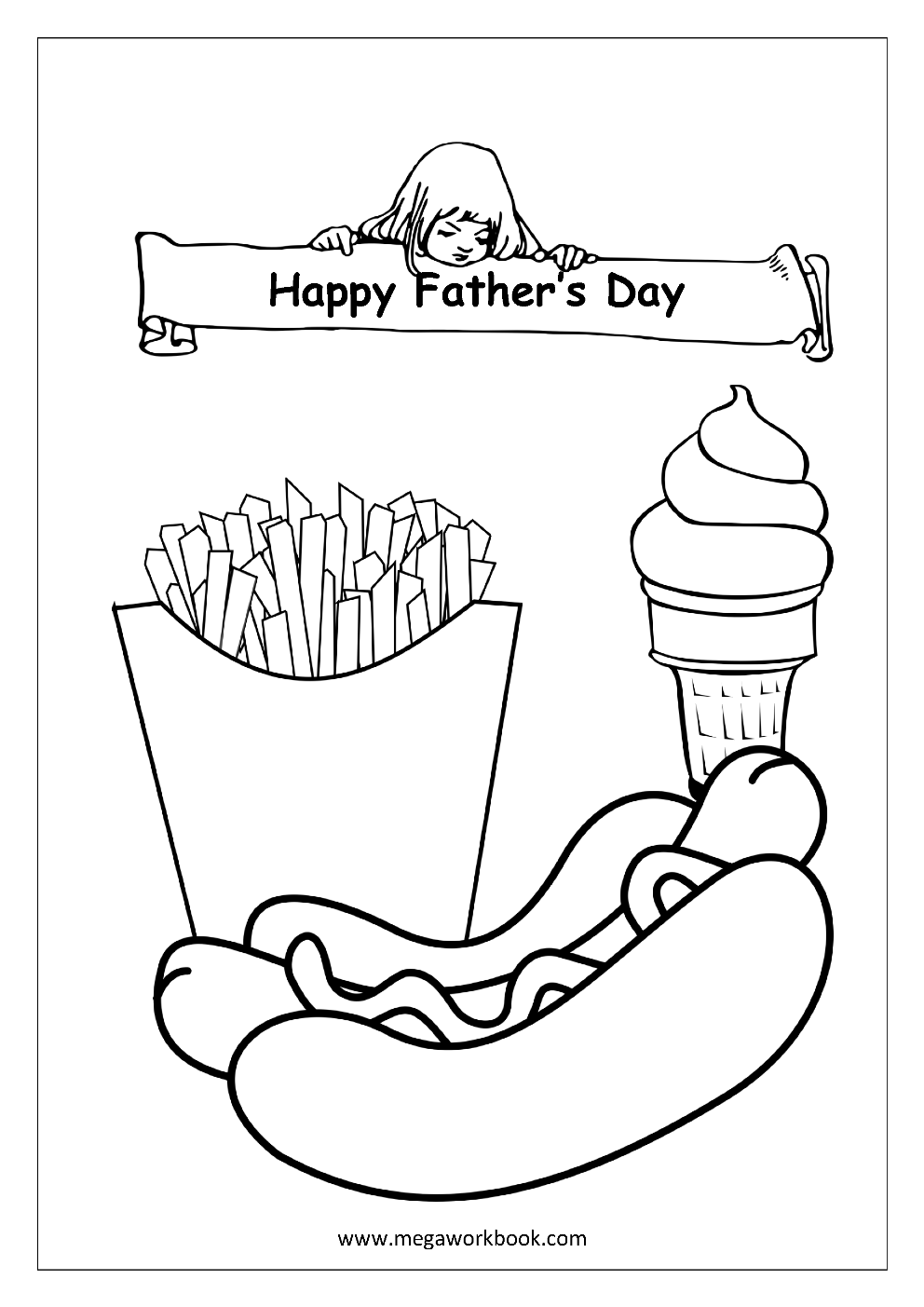 free printable fathers day coloring pages 101 free father39s day printables frugal family fair pages free day fathers coloring printable
