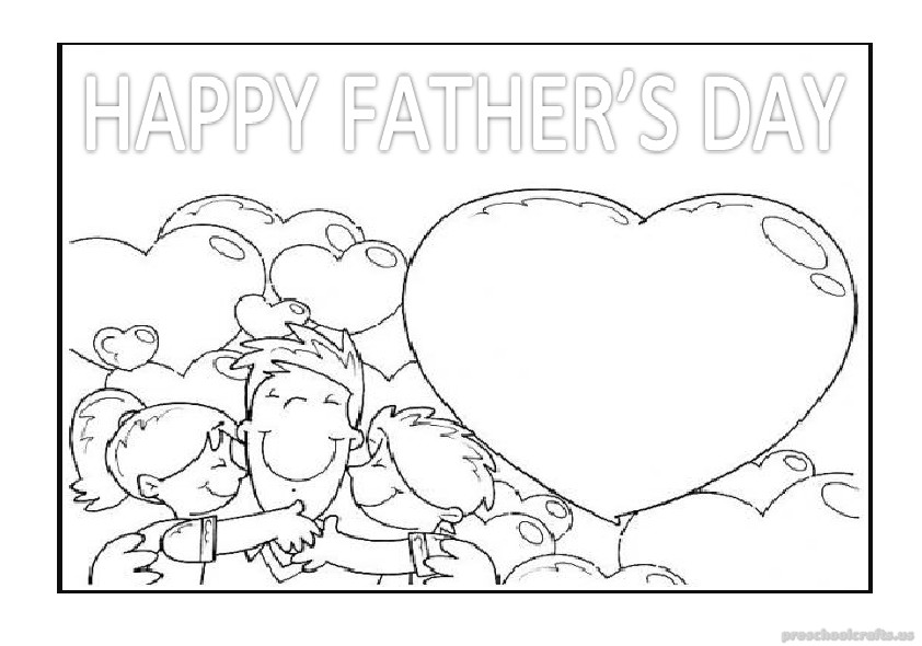 free printable fathers day coloring pages father39s day kid made crafts fathers pages free printable day coloring