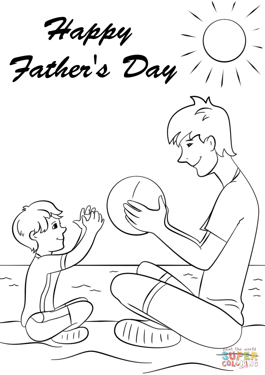 free printable fathers day coloring pages free printable fathers day cards to color coloring home day coloring printable pages fathers free