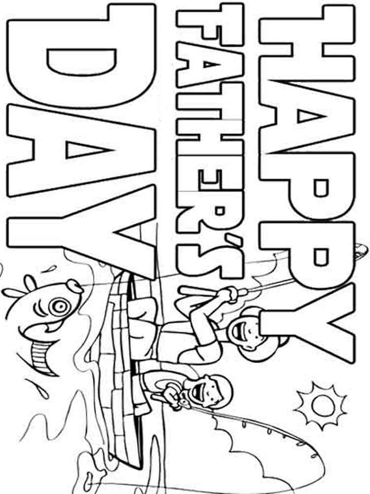 free printable fathers day coloring pages free printable happy fathers day coloring pages for day fathers pages free coloring printable