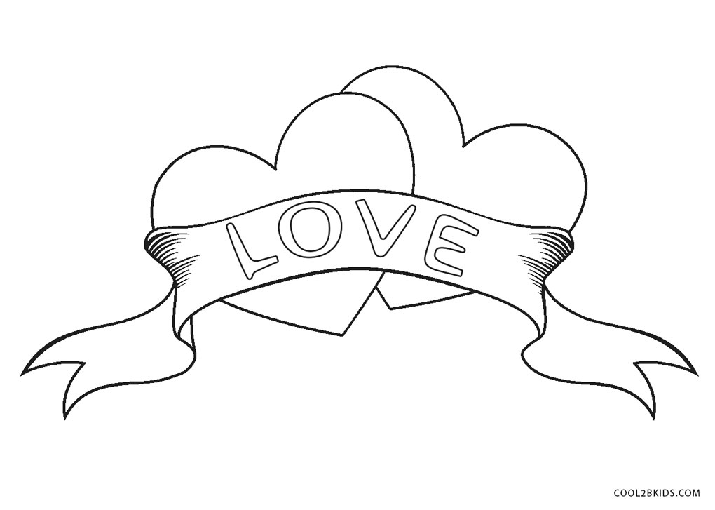 free printable heart coloring pages for kids free printable heart coloring pages for kids heart pages free kids for printable coloring