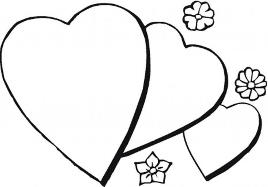 free printable heart coloring pages for kids pix for gt printable hearts to color valentine coloring printable for heart kids coloring pages free