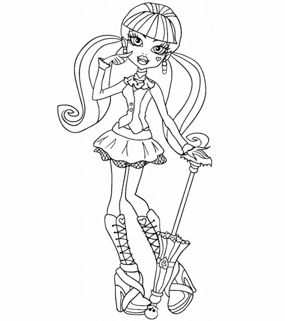 free printable monster high coloring pages monster high clawdeen wolf coloring pages coloring home pages free monster coloring printable high