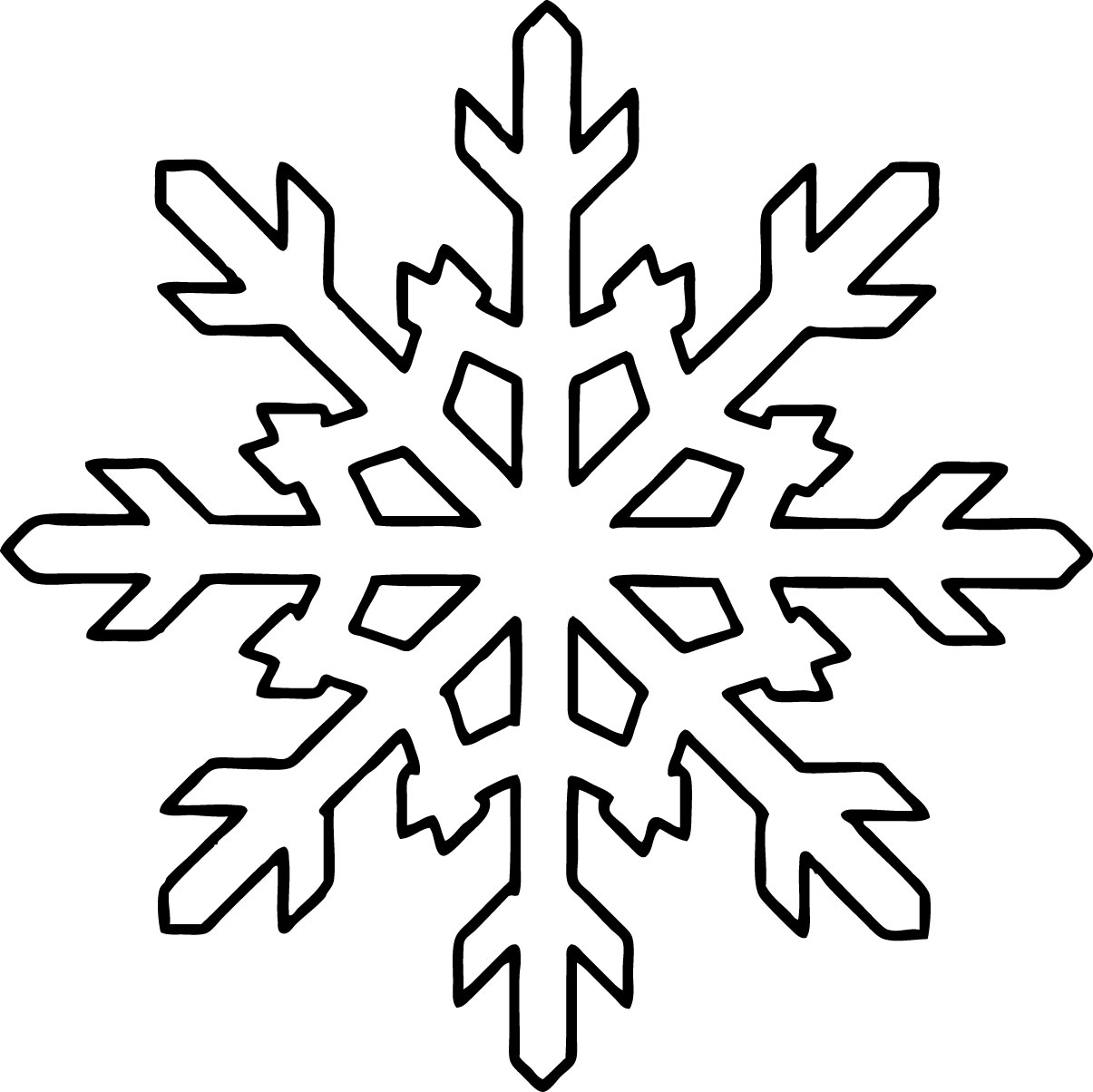 free snowflake coloring pages free printable snowflake coloring pages for kids coloring snowflake pages free
