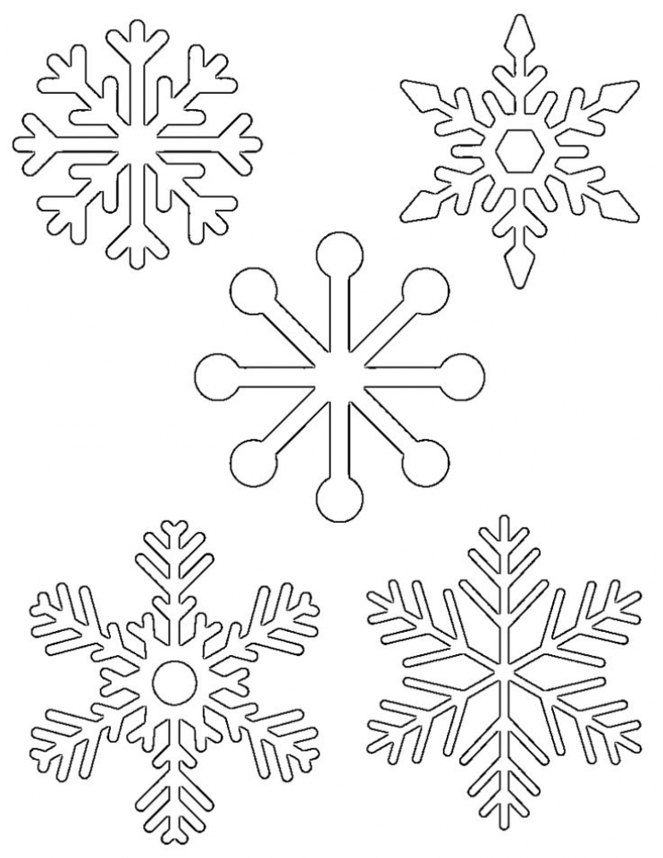 free snowflake coloring pages free printable snowflake coloring pages for kids coloring snowflake pages free 1 1
