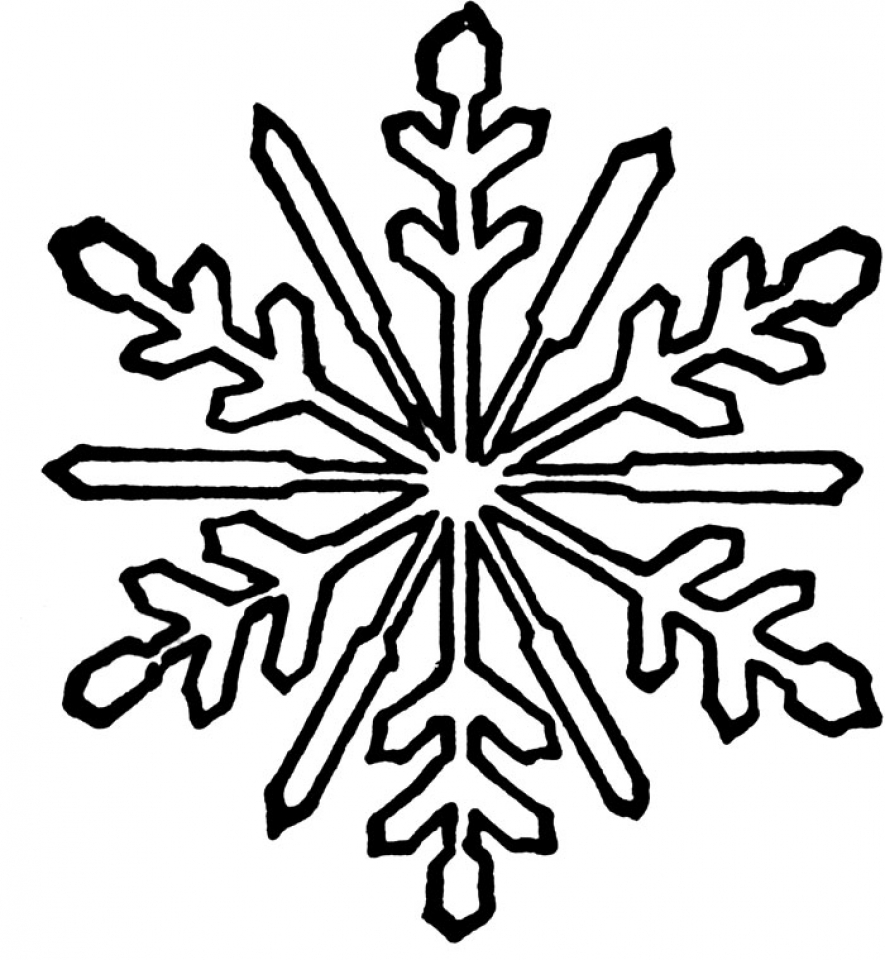 free snowflake coloring pages free printable snowflake coloring pages for kids snowflake free coloring pages