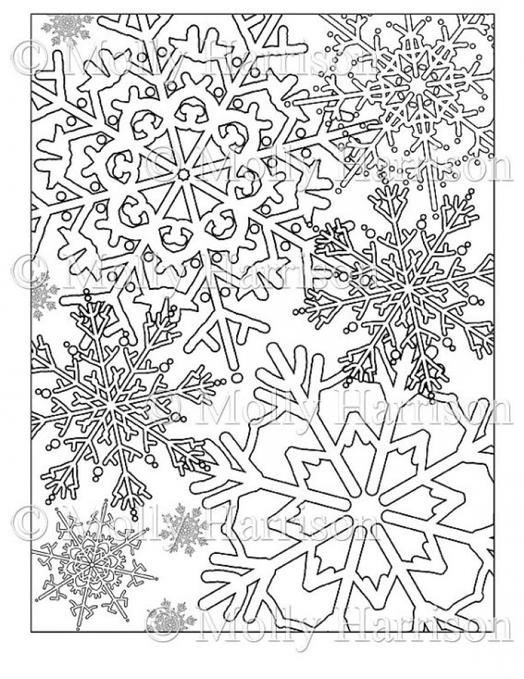 free snowflake coloring pages free printable snowflake coloring pages free snowflake coloring pages
