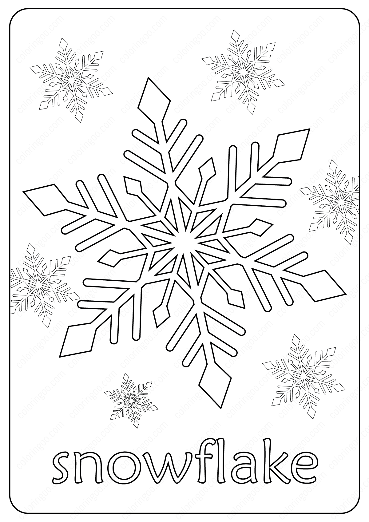 free snowflake coloring pages free printable snowflake coloring pages pages free snowflake coloring