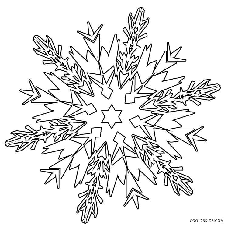 free snowflake coloring pages snowflake drawing simple at getdrawings free download coloring free snowflake pages