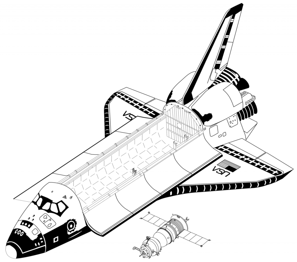 free spaceship coloring pages space shuttle coloring pages at getdrawings free download coloring pages spaceship free