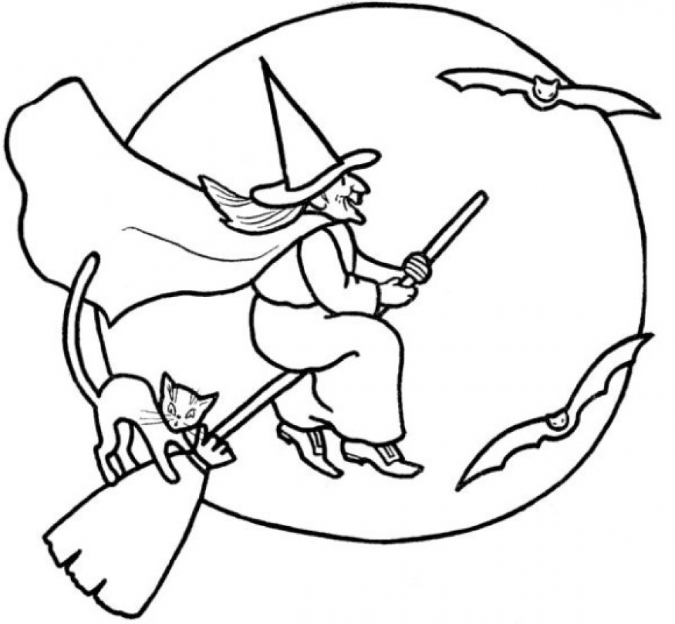 free witch coloring pages free printable witch coloring pages for kids coloring witch free pages