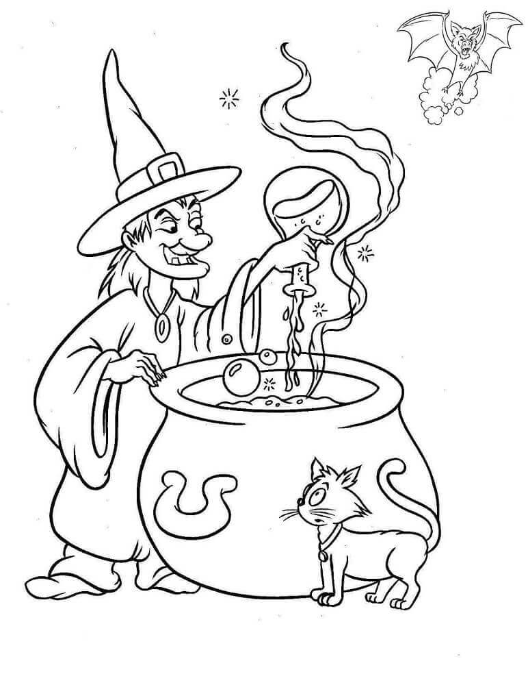 free witch coloring pages free printable witch coloring pages for kids free coloring witch pages