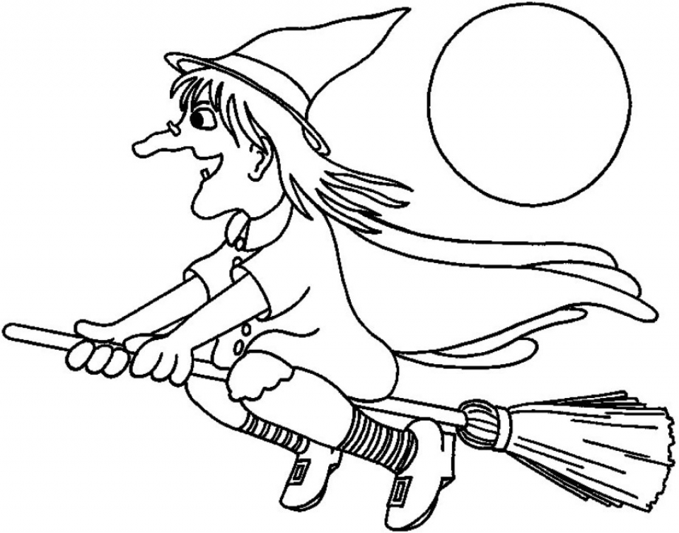 free witch coloring pages get this easy printable witch coloring pages for children pages coloring free witch