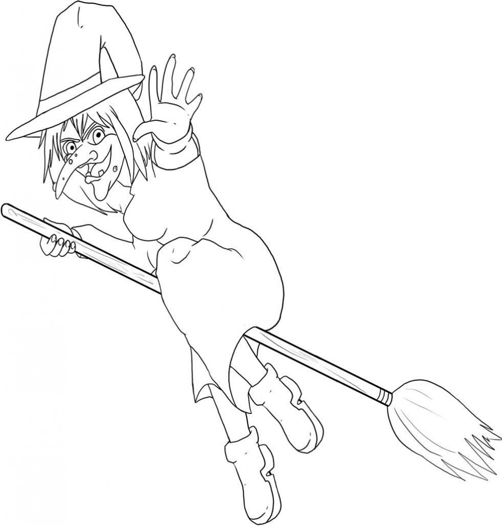 free witch coloring pages halloween coloring pages getcoloringpagescom coloring pages witch free