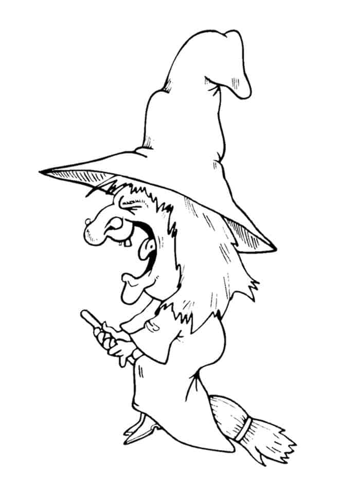 free witch coloring pages witch coloring pages to print free coloring witch pages
