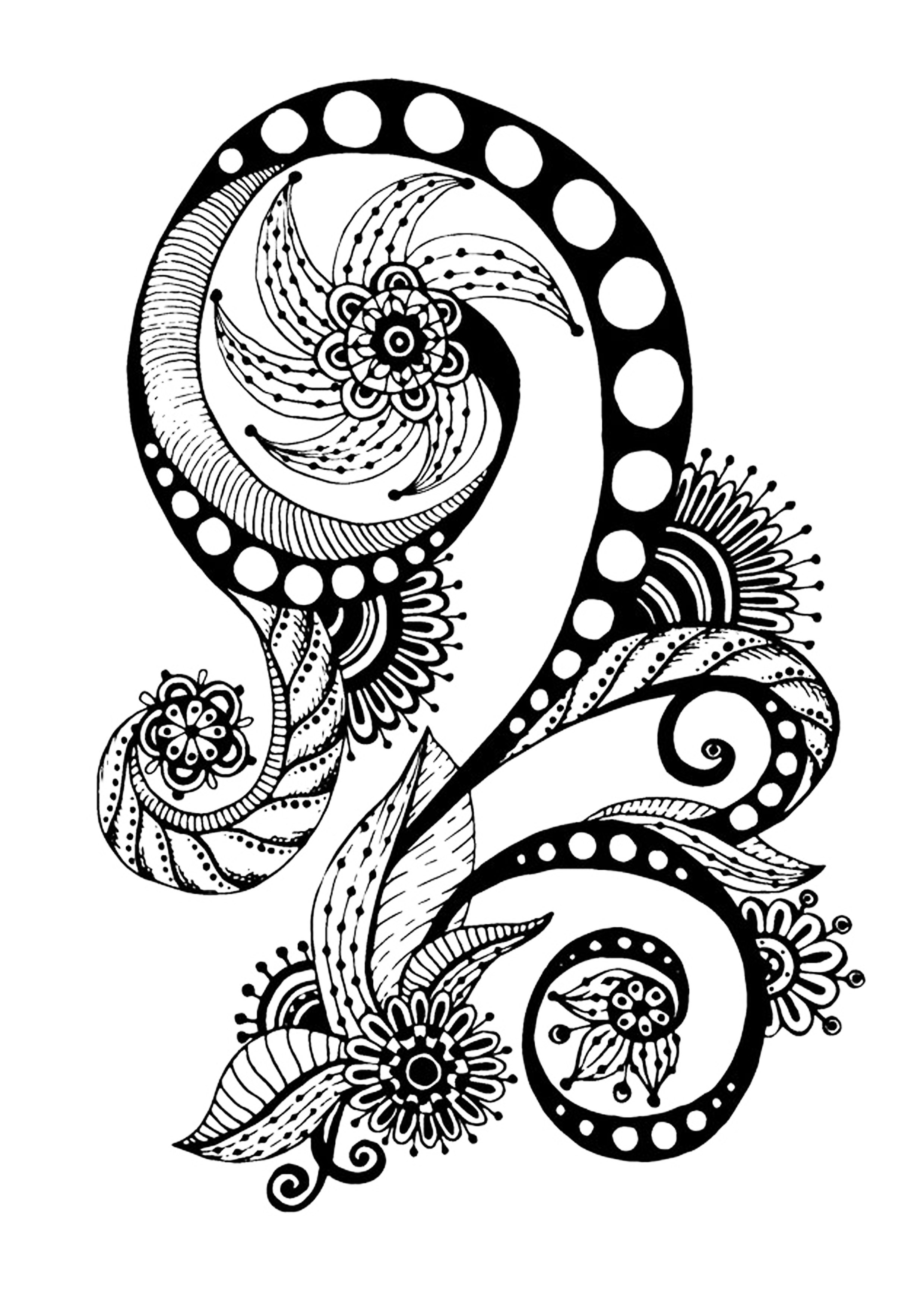 free zen coloring pages free coloring page coloring zen antistress abstract free pages coloring zen
