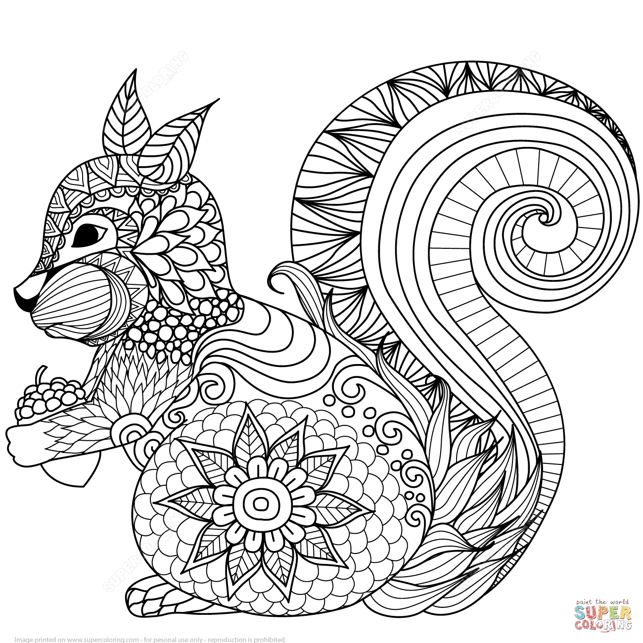 Free zen coloring pages