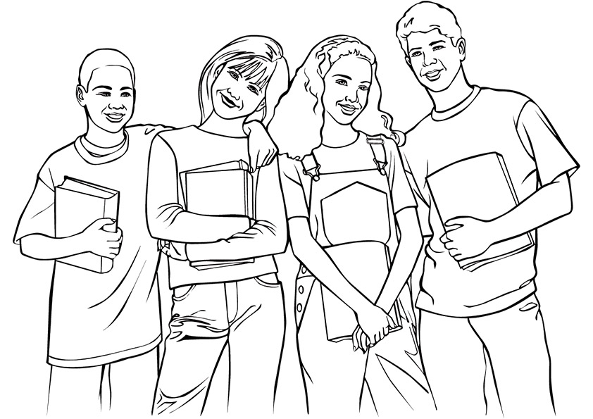 friends coloring page best friend coloring pages to download and print for free coloring page friends