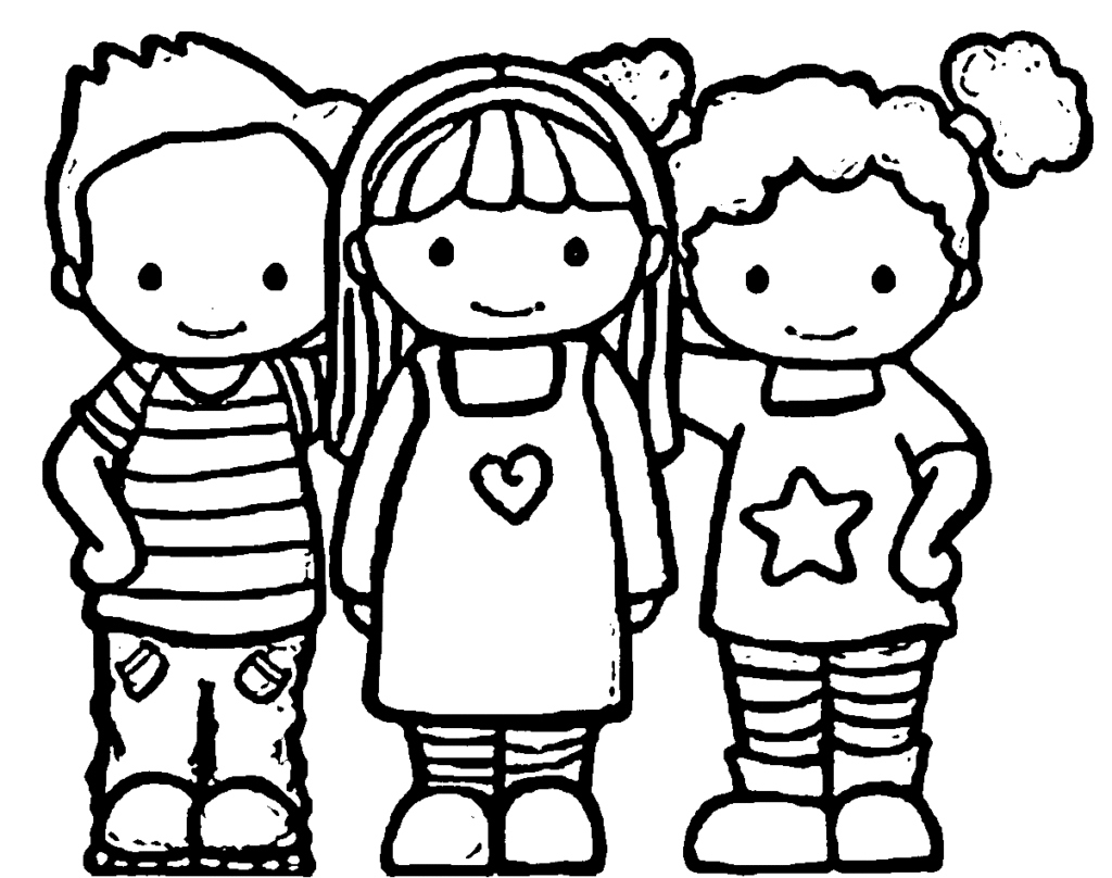 friends coloring page free printable coloring pages for girls art hearty coloring friends page