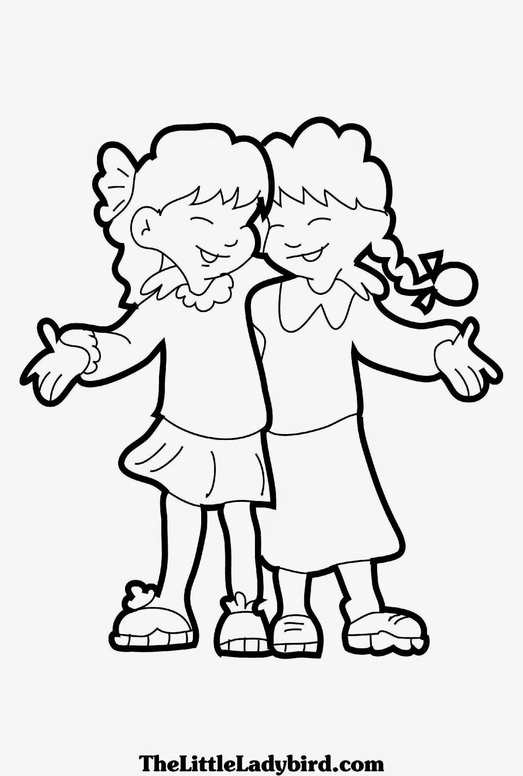 friends coloring page friendship coloring pages best coloring pages for kids friends page coloring