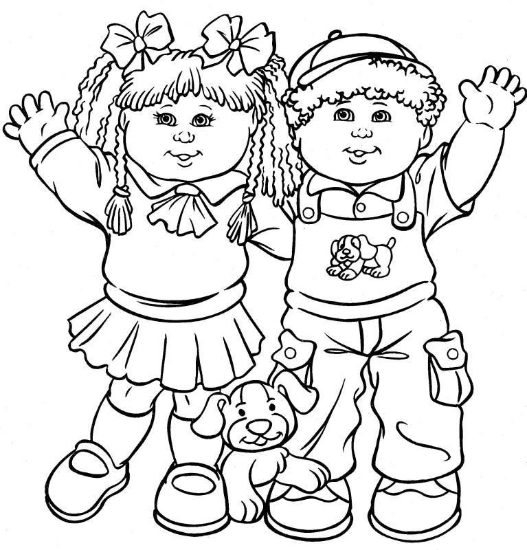 friends coloring page three friends printable coloring image for kids coloring friends page