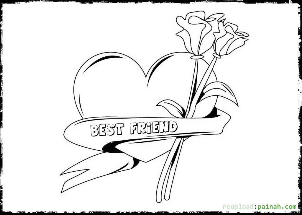 friendship coloring pages kindness is helping friend coloring pages kids play color coloring pages friendship