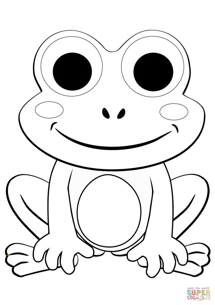 frog coloring sheets sweet frog coloring pages at getdrawings free download coloring sheets frog