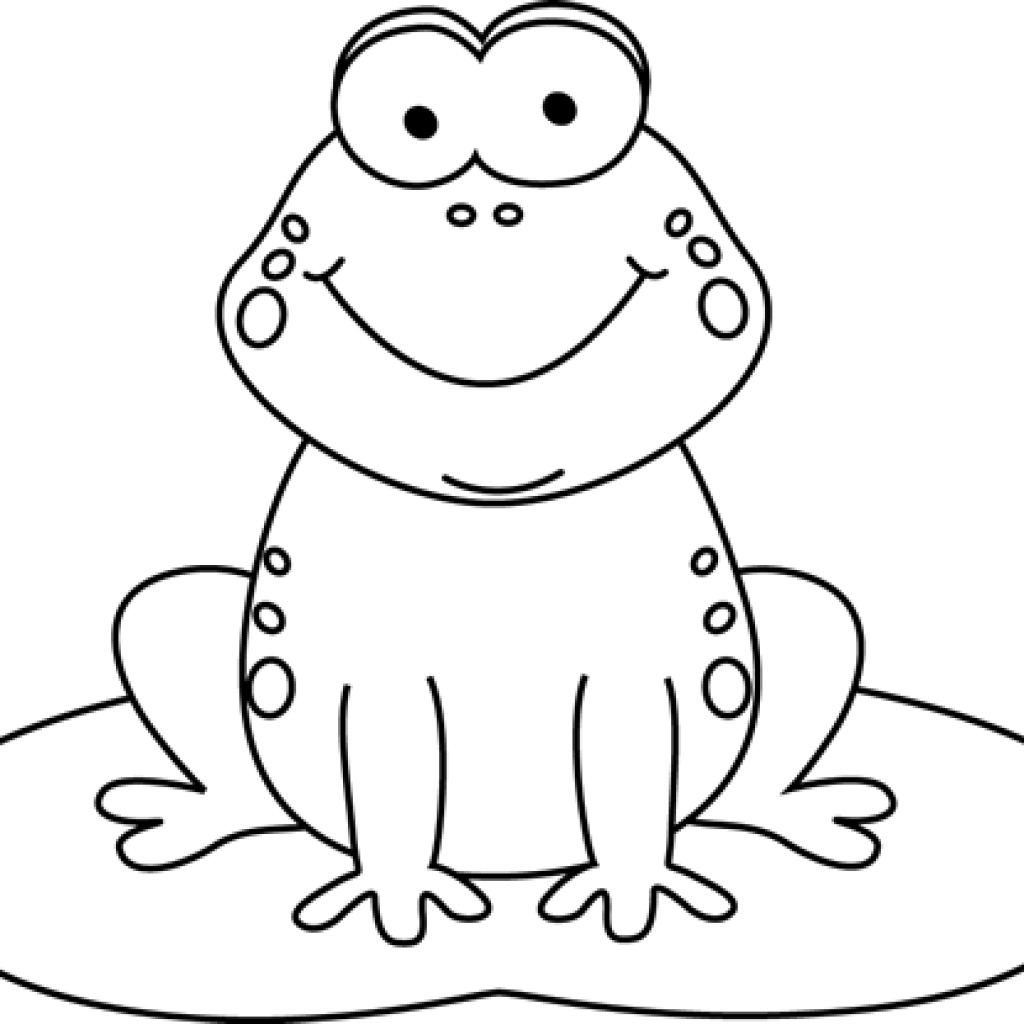 frog on lily pad coloring page coloring clipart frog coloring frog transparent free for frog coloring page on lily pad