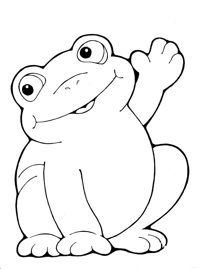 frog to color printable frog color sheets activity shelter to frog color