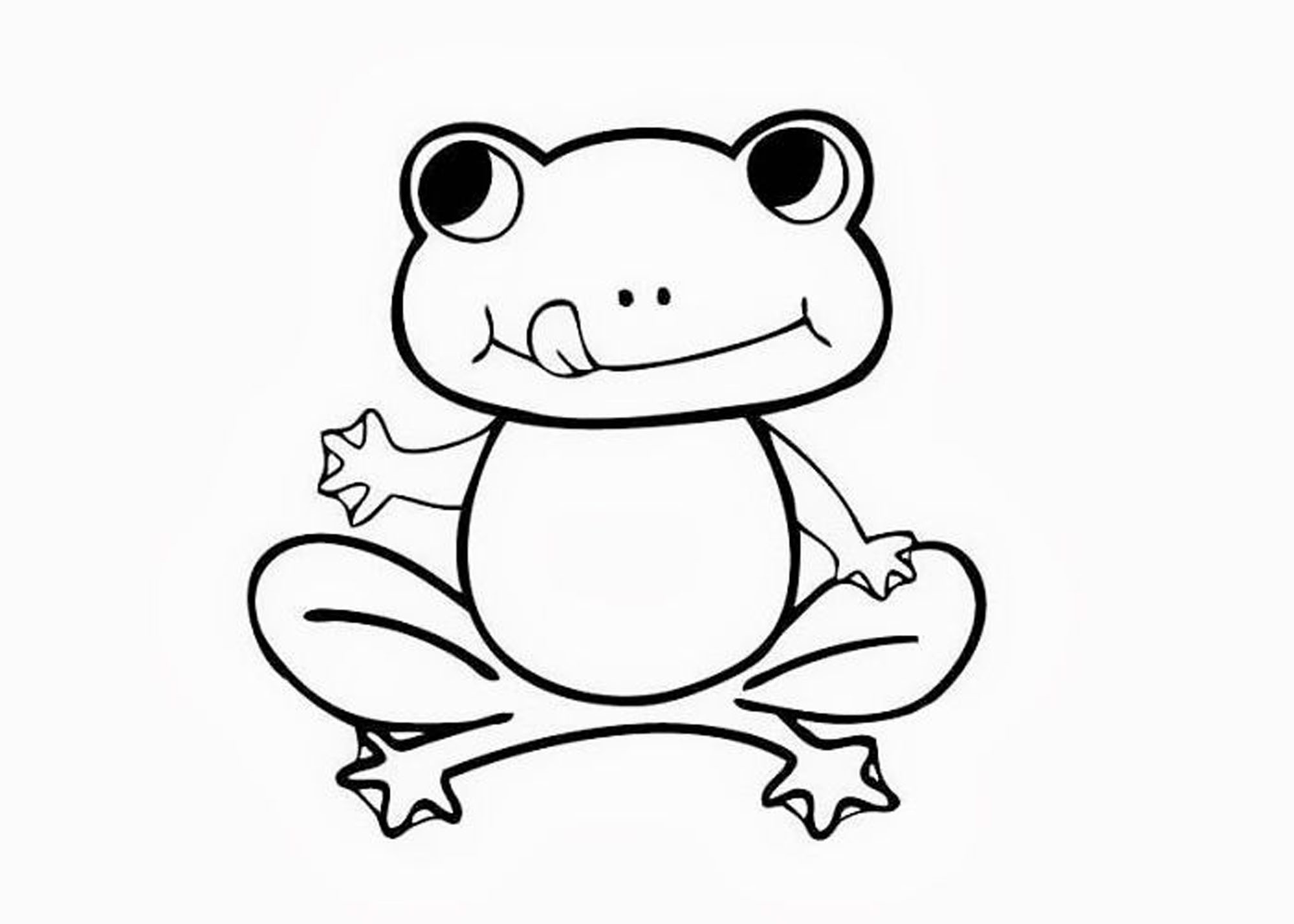 frog to color realistic frog drawing at getdrawings free download frog color to