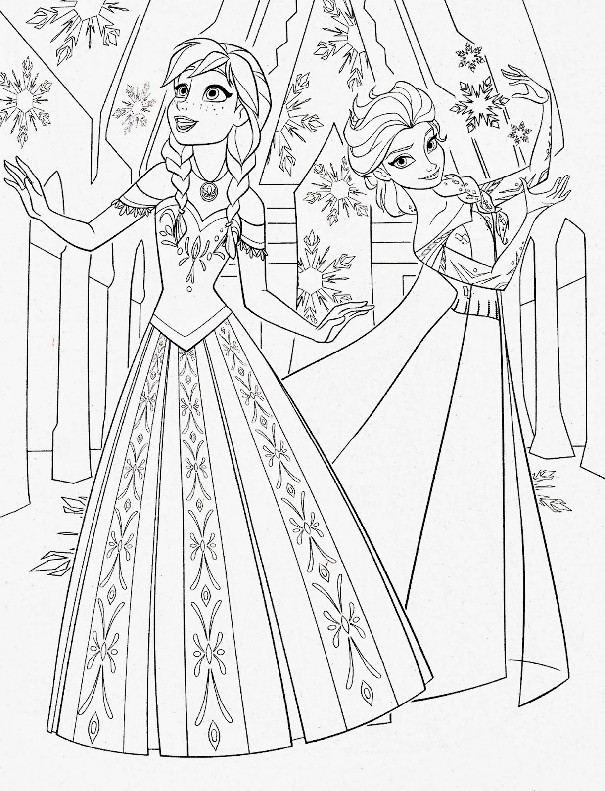 frozen drawings to color coloring pages frozen coloring pages free and printable to frozen color drawings