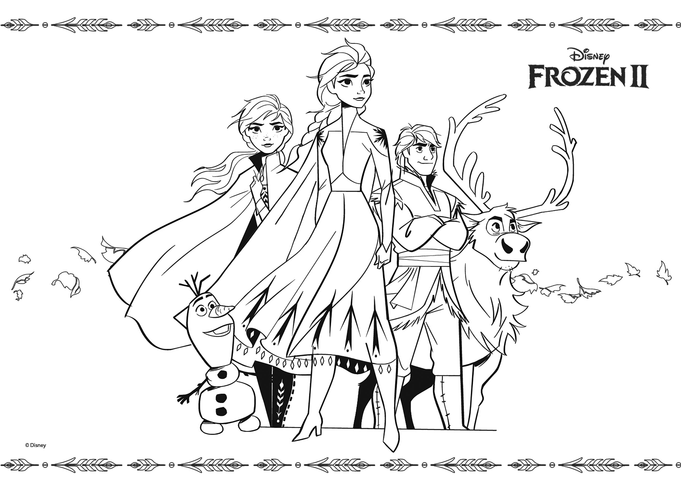 frozen drawings to color frozen 2 to color for children frozen 2 kids coloring pages frozen color drawings to