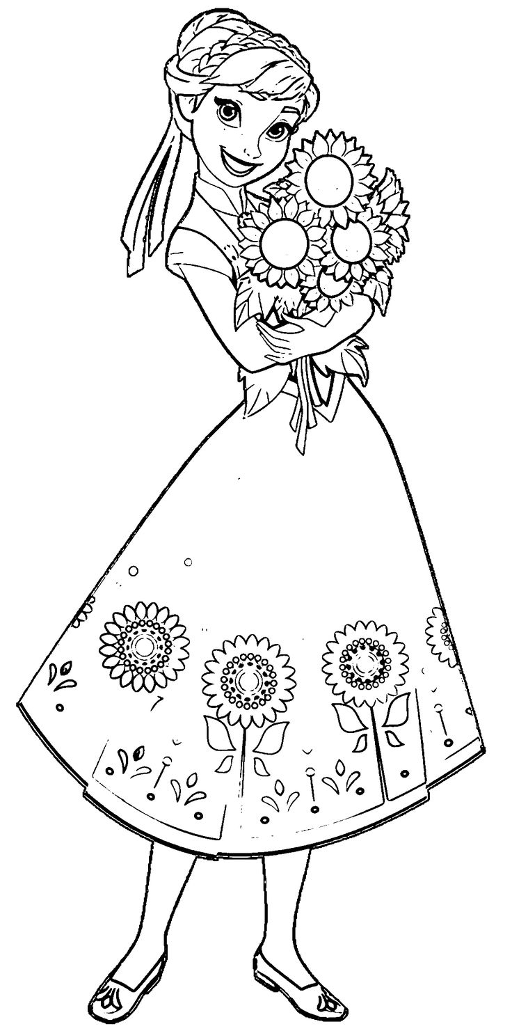 frozen drawings to color frozen drawing anna and elsa at getdrawings free download color to drawings frozen