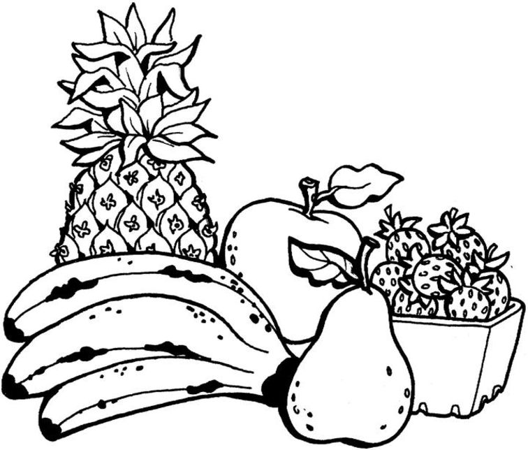 fruit coloring sheet fruit coloring pages 2 coloring pages to print sheet coloring fruit