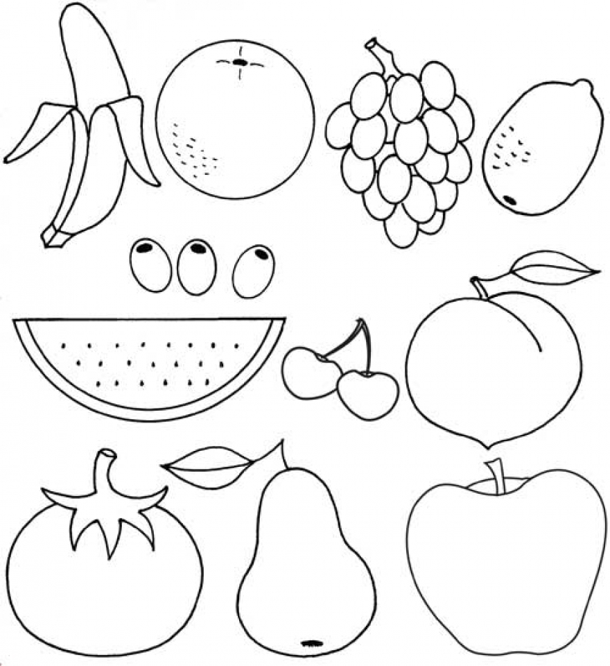 fruit coloring sheet fruit coloring pages 2 coloring ville coloring pages for sheet fruit coloring
