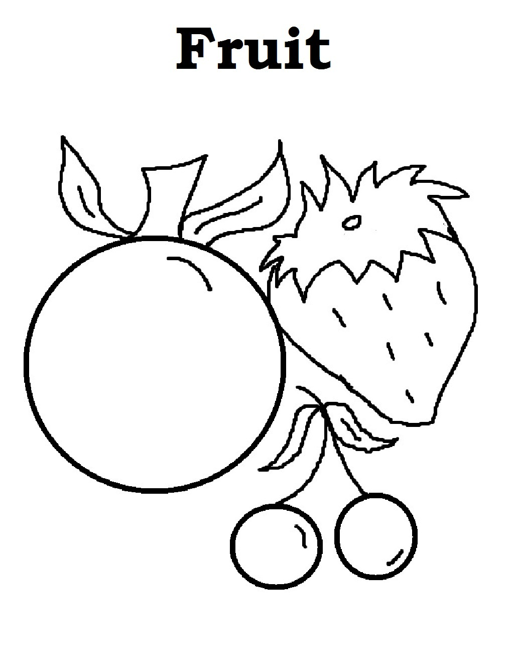 fruit coloring sheet fruit coloring pages for childrens printable for free fruit sheet coloring