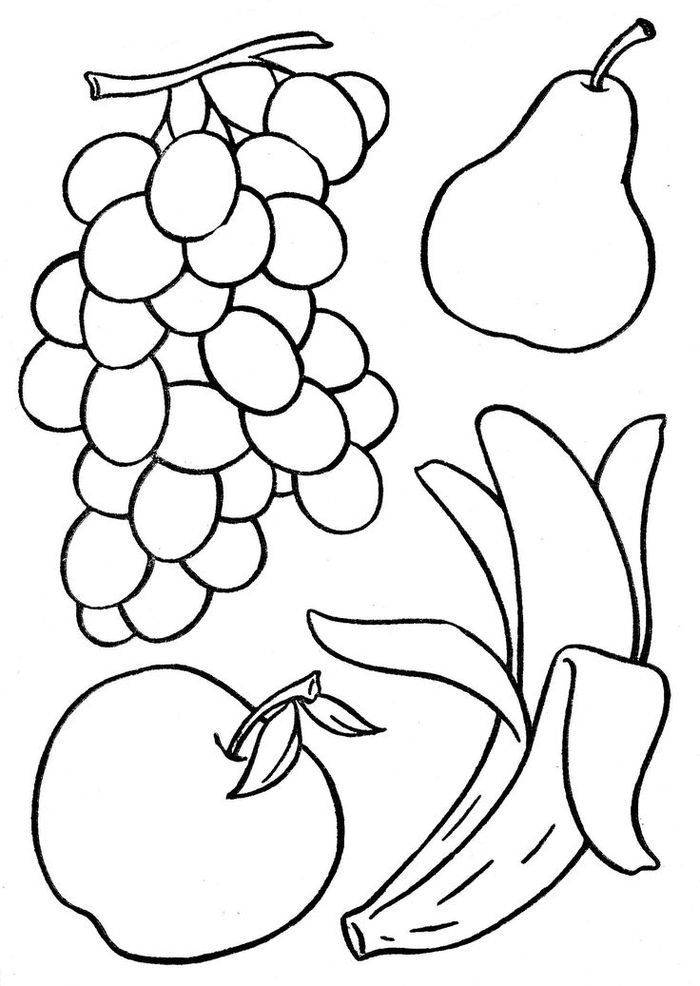 fruit colouring in delicious fruit coloring pages to print stpetefestorg in colouring fruit