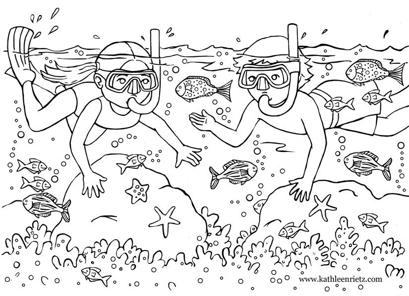 funny summer coloring pages fun in the sun color sheet free teacher resource free pages funny coloring summer