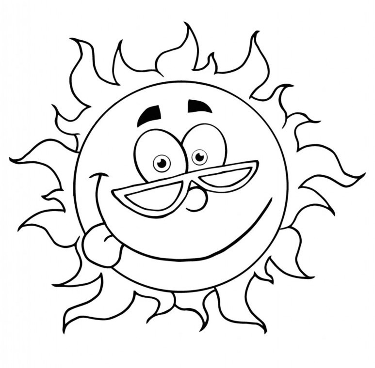 funny summer coloring pages fun summer coloring pages beautiful summer coloring pages coloring summer pages funny