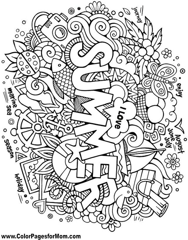 funny summer coloring pages summer coloring pages getcoloringpagescom summer funny pages coloring