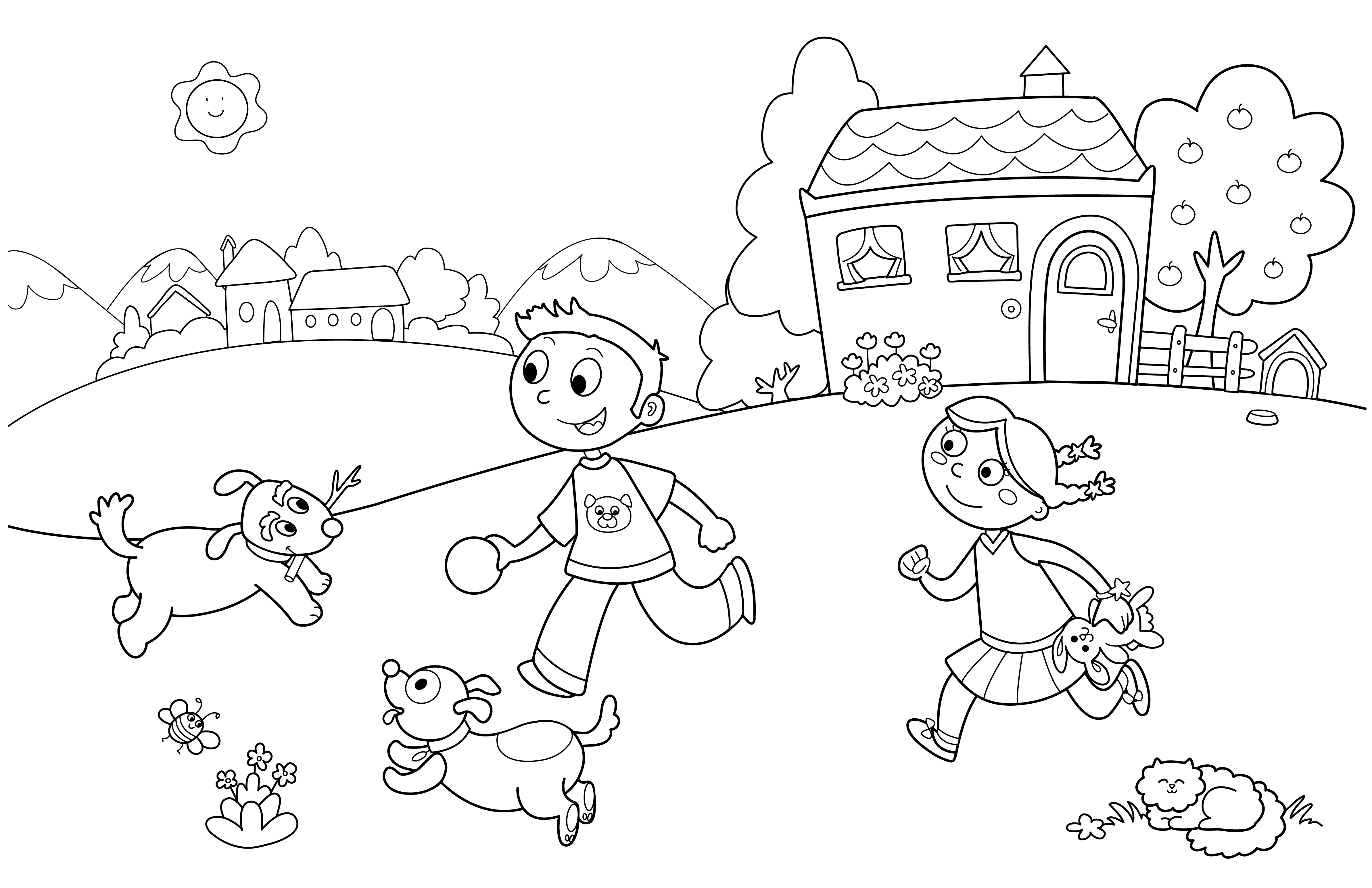 funny summer coloring pages summer fun at the beach coloring page by pages summer funny coloring