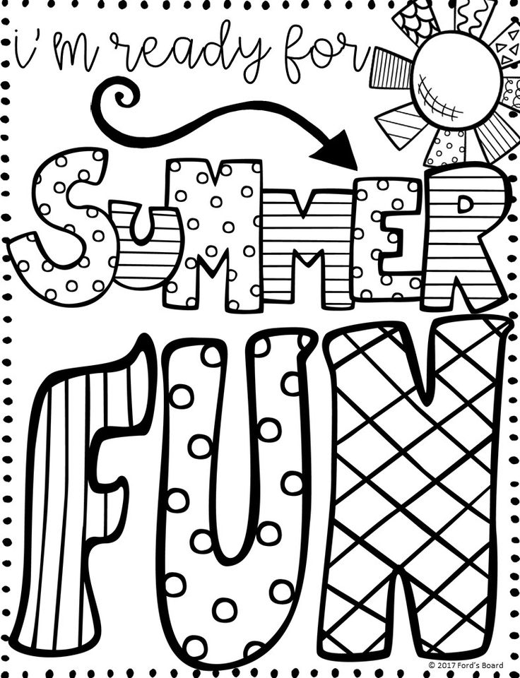 funny summer coloring pages summer fun coloring pages to download and print for free coloring summer pages funny