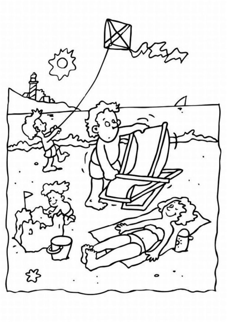 funny summer coloring pages summer to color girl preschool coloring pages summer fun pages coloring summer funny