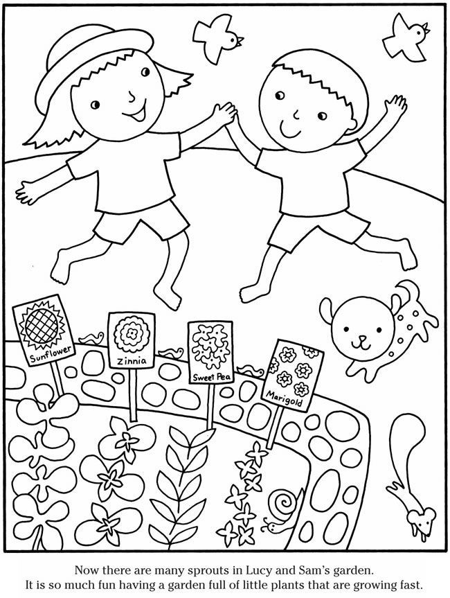 garden coloring sheets garden drawing for kid at getdrawings free download sheets coloring garden