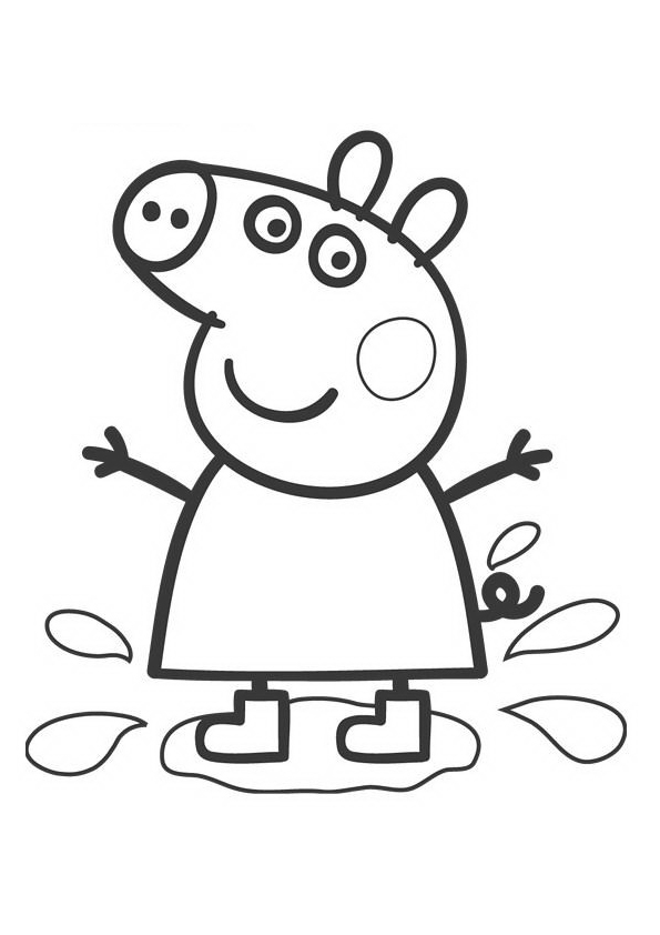 george peppa pig coloring pages coloring pages for kids free images peppa pig and george pig george peppa pages coloring